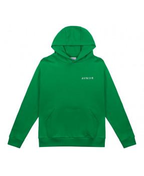 Avnier Hoodie Vertical Back Green