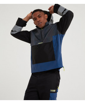 Nicce Charge Cagoule Bleu