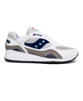 Saucony Shadow 6000 White/grey/navy