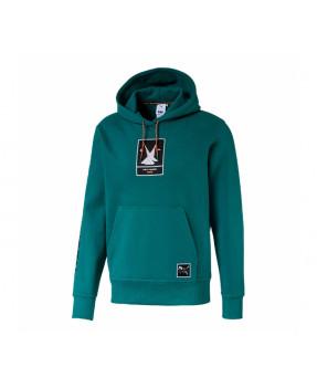 Puma X Hh Hoody Teal Green