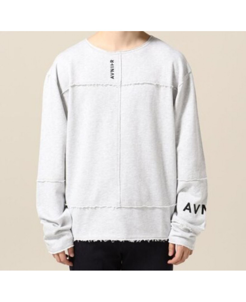 Avnier Stitch Long Sleeve Grey