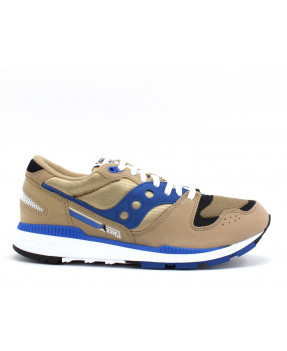 SAUCONY AZURA TAN/BLUE