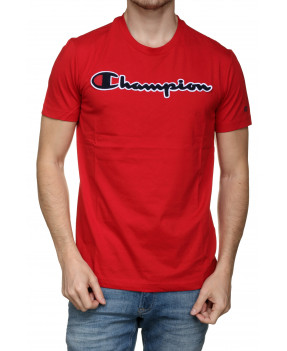 CHAMPION T-SHIRT ROUGE