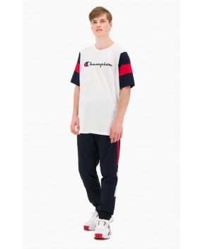 CHAMPION TSHIRT WHITE/NIGHT