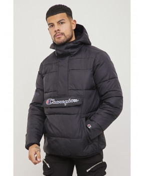 CHAMPION HOOD JACKET NOIR