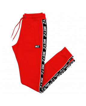 WEYZ PANT STRIPE ROUGE