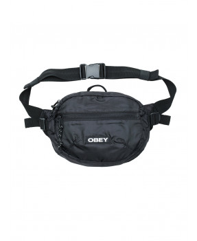 OBEY COMMUTER WAIST BAG BLACK
