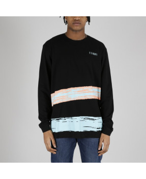 EDWIN SURF CLUB L/S BLACK