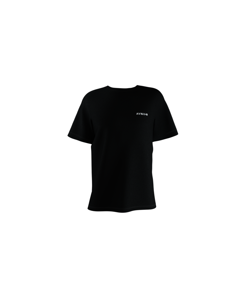 Avnier Tee-shirt Black Vertical Back